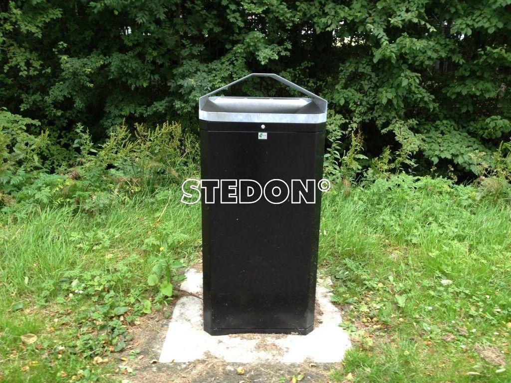BM 2 afvalbak straatmeubilair