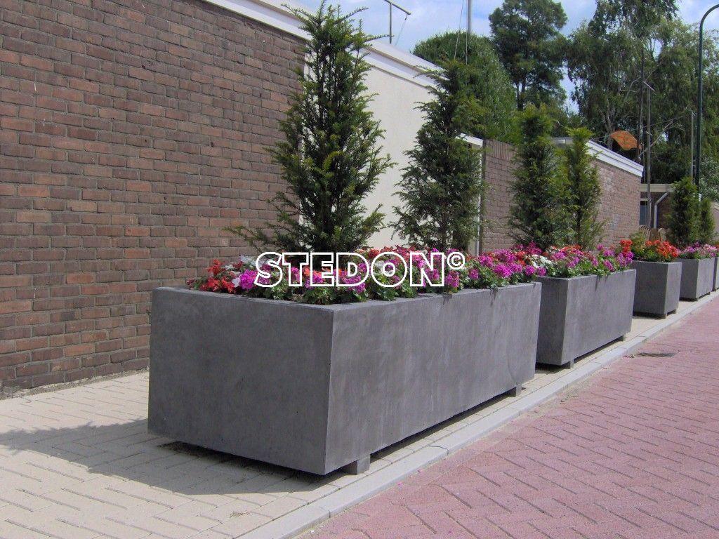 bloembakken voor een leefbare omgeving stedon stedelijke