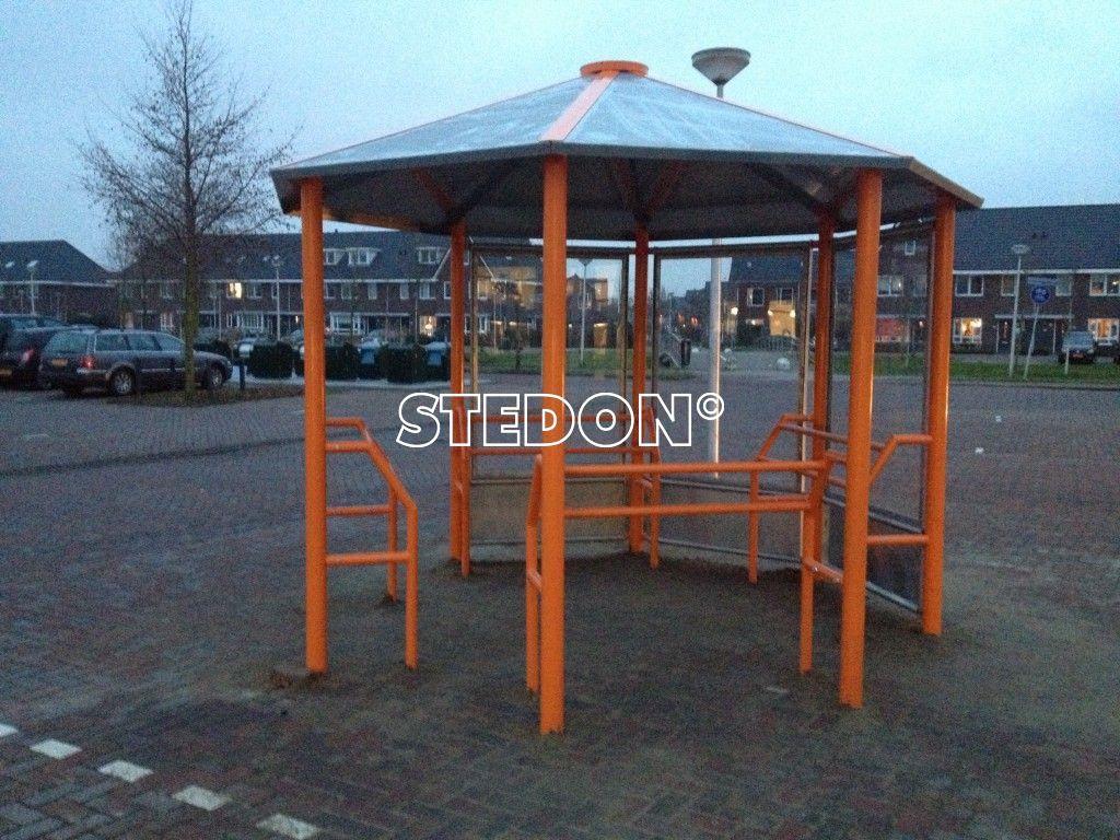 Jongeren ontmoetingsplek JOP Straatmeublilair