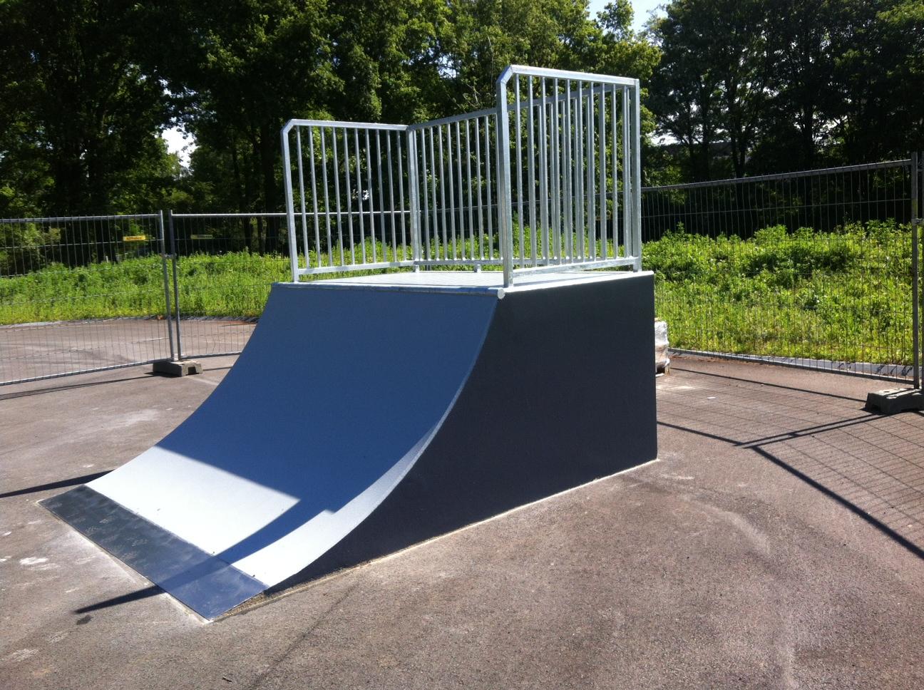 Skatetoestellen skatepark