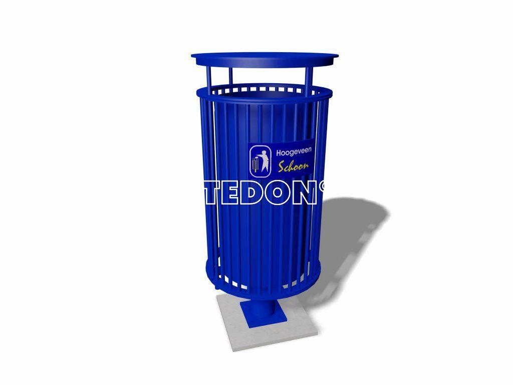 Afvalbakken straatmeubilair