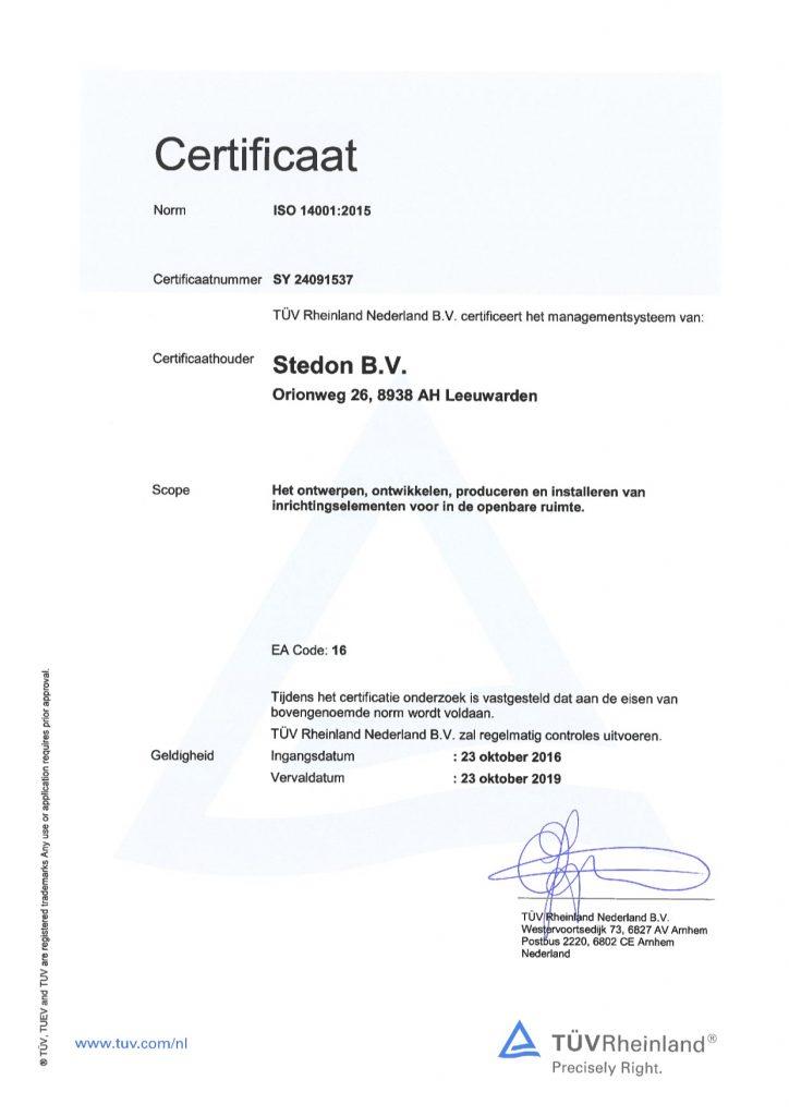 SY 24091537 get cert ISO 14001