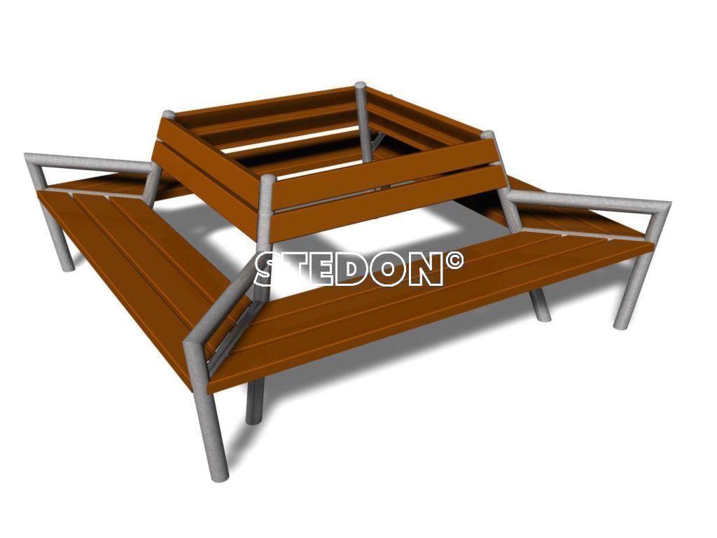 Boombank - Vierkant 200 - 2