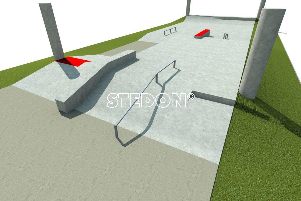 Skatepark skate