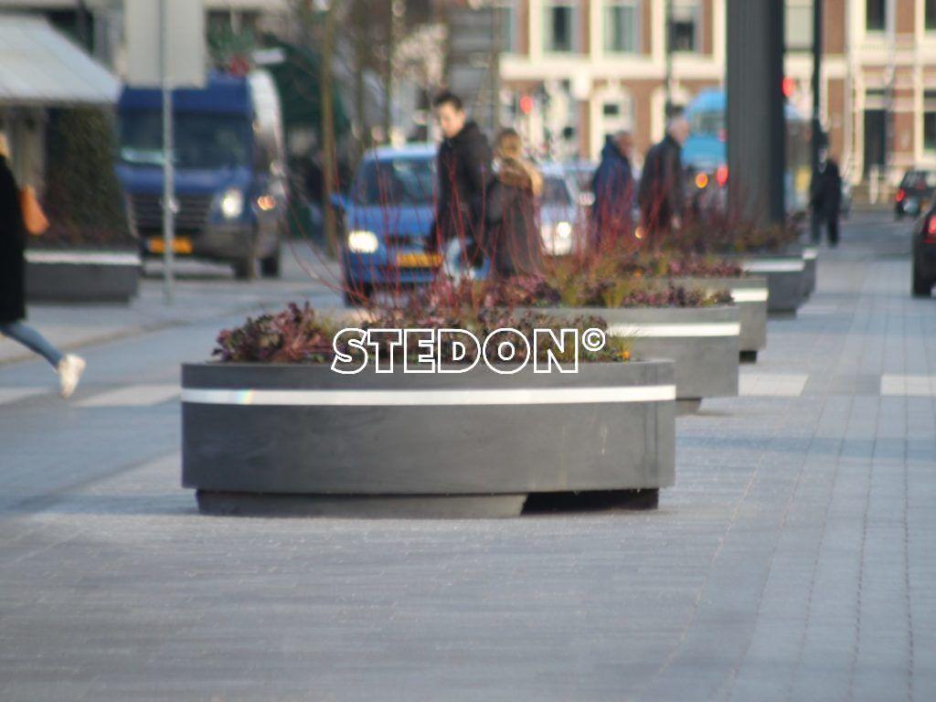 betonnen Bloembakken
