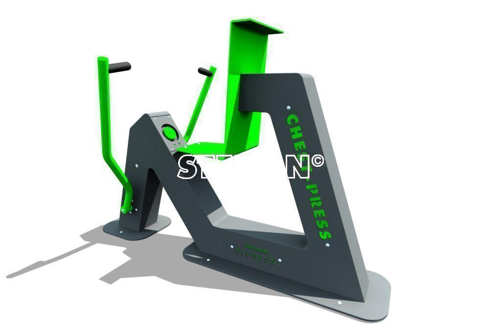 Buiten fitnesstoestellen