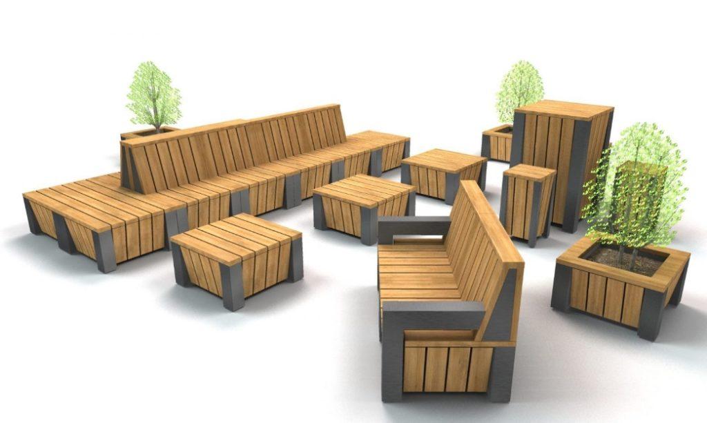 Banken voor openbare ruimte
