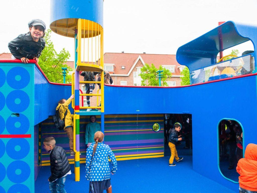 Speeltoestellen voor een openbare ruimte