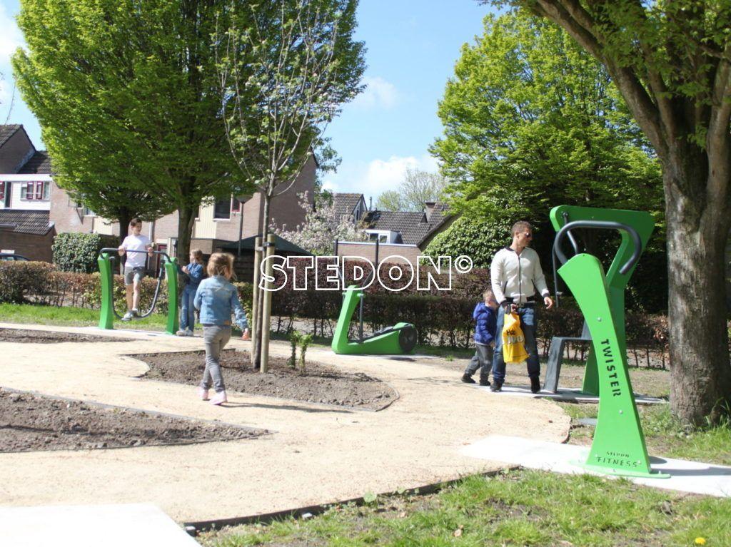 Buiten fitness Leeuwarden