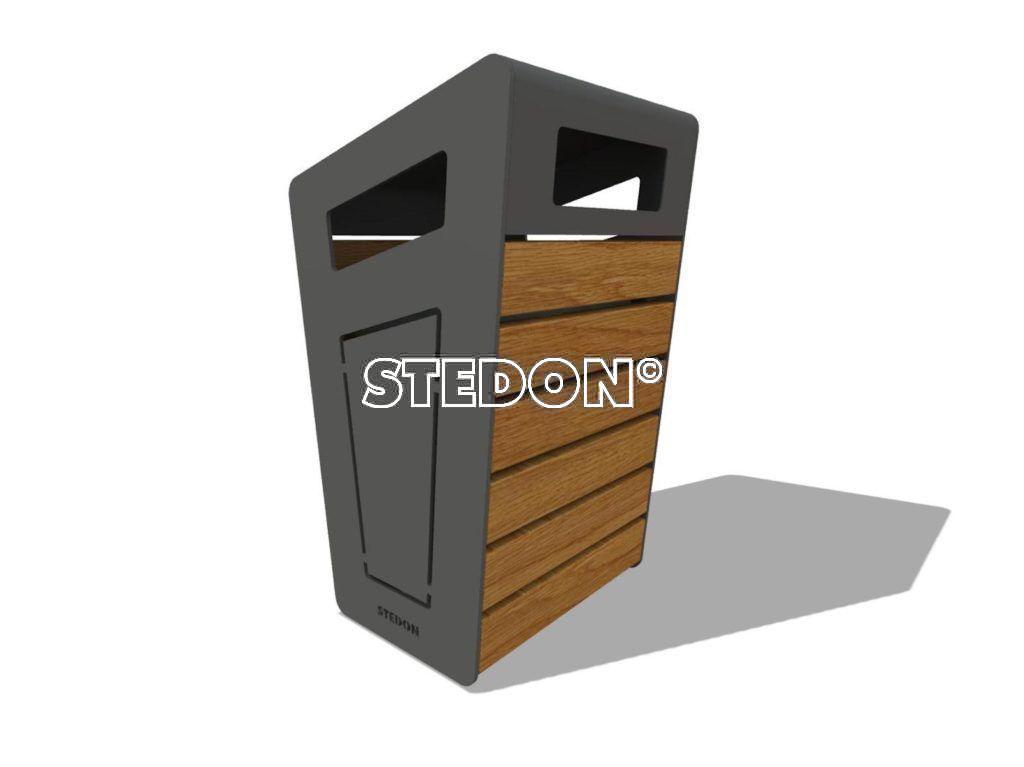 Afvalbak, afvalbakken, afvalbak metaal, afvalbak openbare ruimte, afvalbak voor buiten