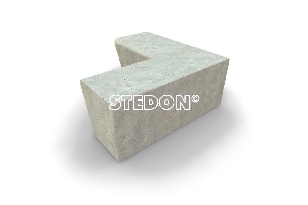 Parkranden, parkrand, betonnen parkranden, betonnen parkrand, beton element, betonnen elementen, 90˚ Hoek element element beton, Zit element, zit elementen, zitelement, zitelementen, beton, betonnen zit element, zitblok, zitblok 90˚ hoek element