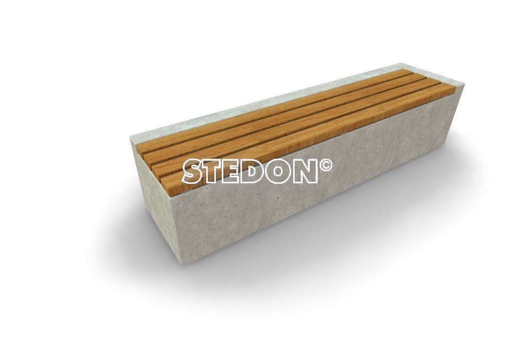 Basis element beton, beton met houten zitting, beton element met houten zitting, zitting hout, Zit element, zit elementen, zitelement, zitelementen, beton, betonnen zit element, zitblok, zitblok rechthoek