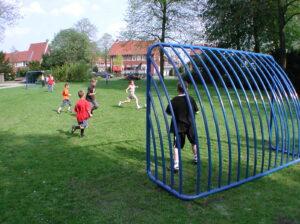 Voetbaldoel, voetbalgoal, goal, voetbaldoelen, voetbalgoals, professioneel voetbaldoel, voetbaldoel voor schoolplein, voetbaldoel voor speelveld