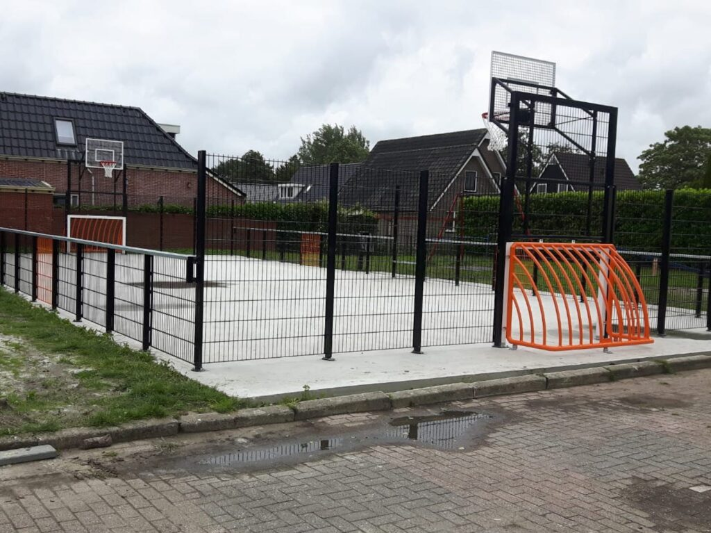 Combinatie doel, combinatie doelen, combi-doel, combi doelen, combineer voetbal en basketbal, multi sport doel, voetbaldoel